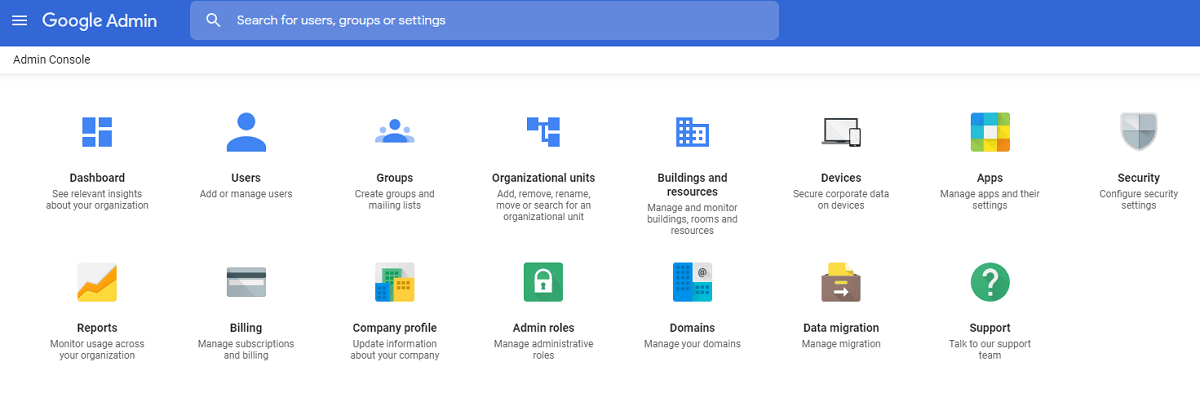Gsuite overview