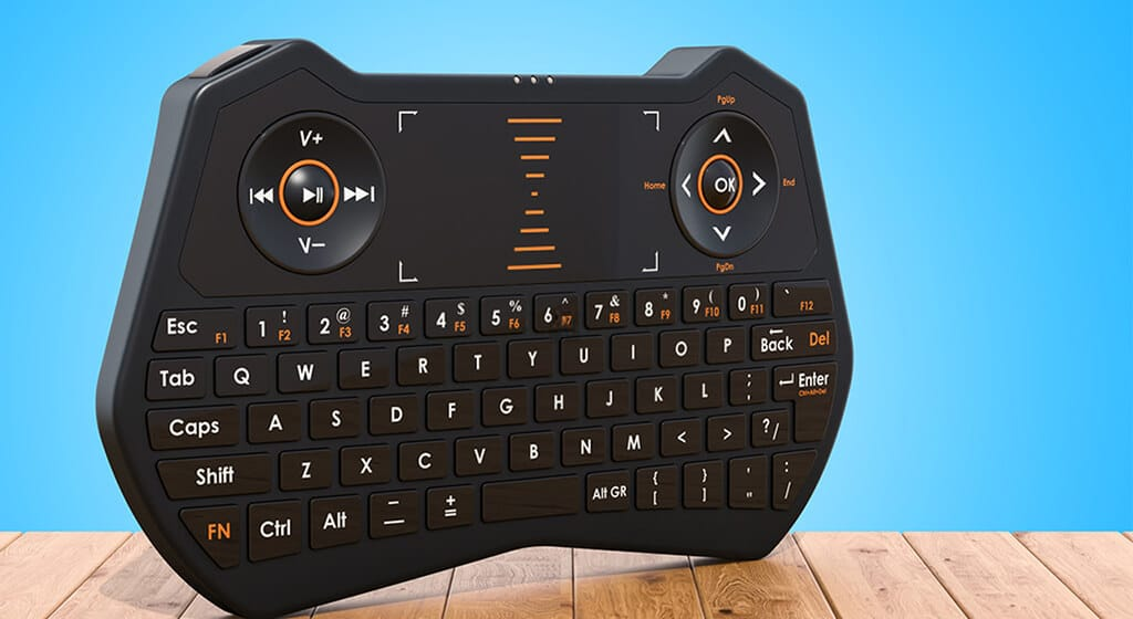 Wireless-Mini-Keyboard