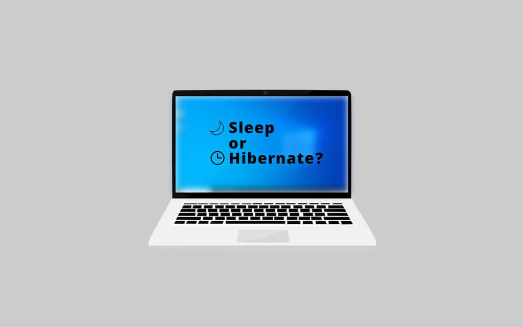 Difference Between Sleep And Hibernate