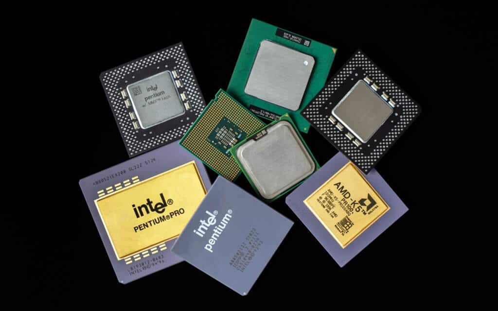 Different computer processors