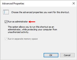 Enter BIOS shortcut Advanced settings