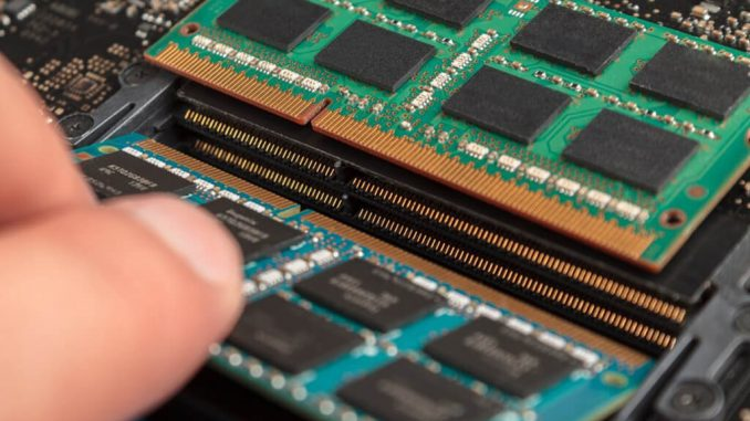 Expansion of RAM in laptop