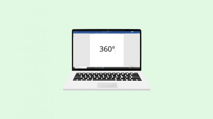How To Type The Degree Symbol On A Laptop