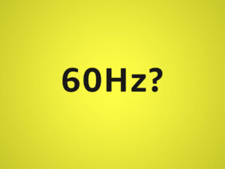 is 60hz enough for video editing