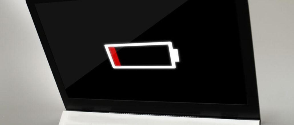 Laptop battery draining fast