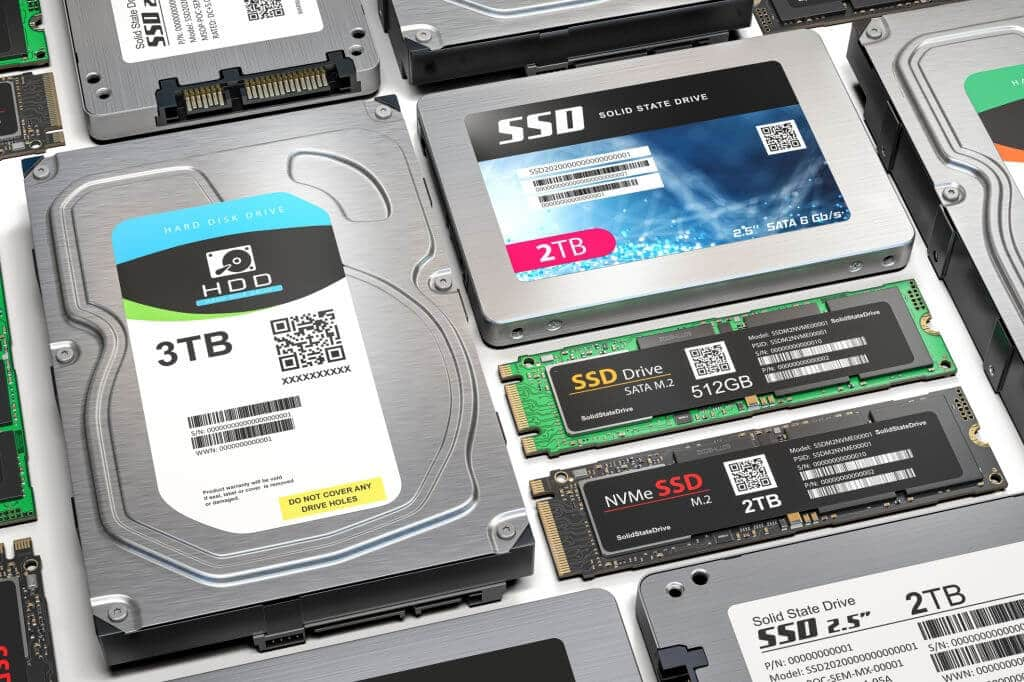 Laptop storage hdd ssd