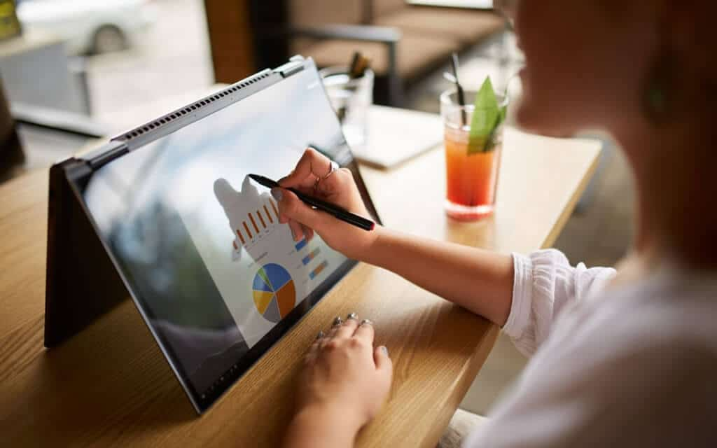 Note Taking and Drawing on Touch Screen Laptop