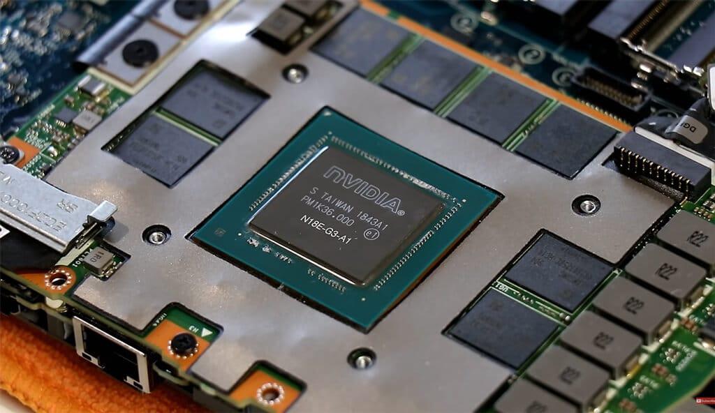 Nvidia GeForce RTX 2080 laptop GPU