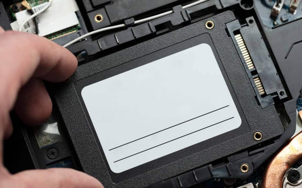 Removing HDD from laptop