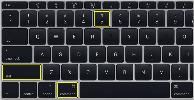 Screenshot on Mac 4