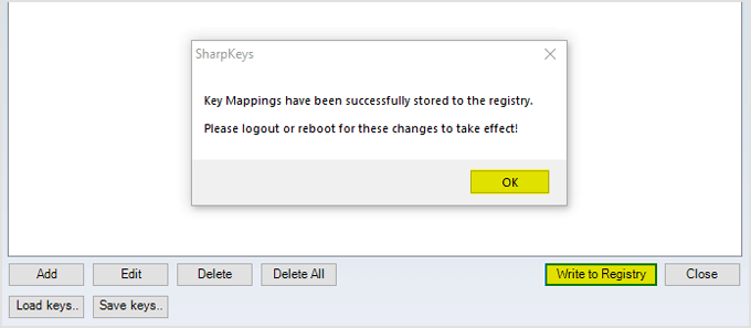 sharpkeys write to registry