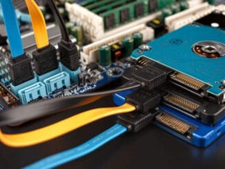 Using a laptop hard drive in desktop