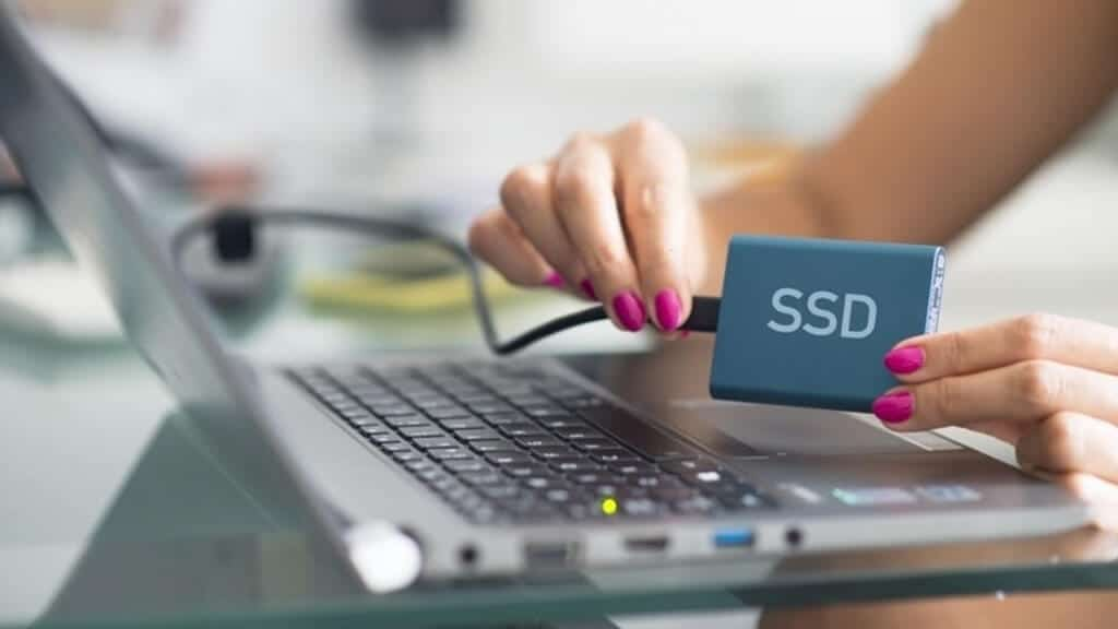 Using external SSD for additional storage