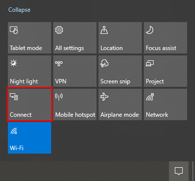 Windows-notification-connect