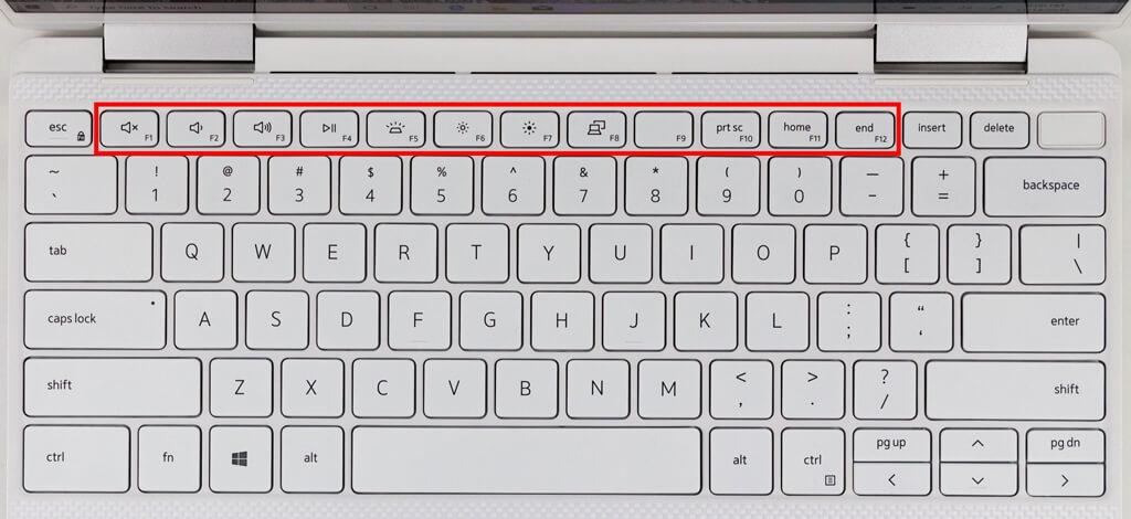 laptop function keys